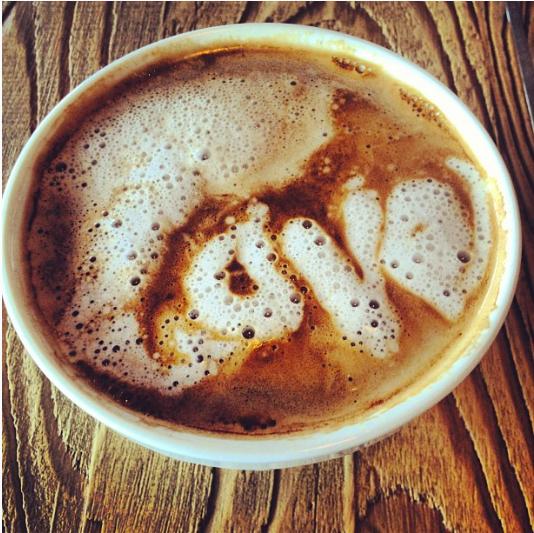latte art zinque